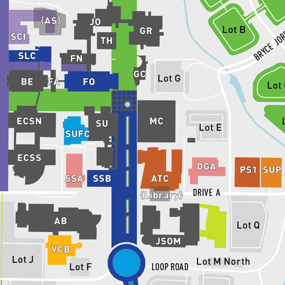 Our Changing Campus - Download the Full-Size Map